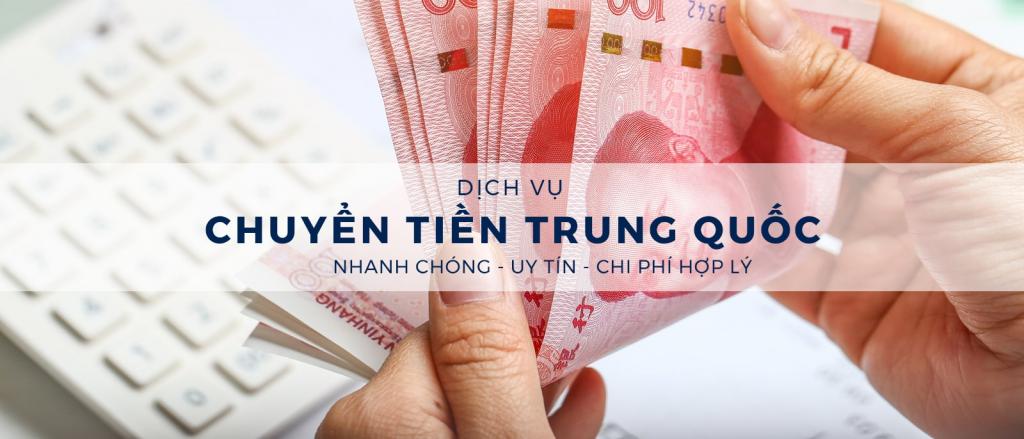 dịch vụ chuyển tiền đi Trung Quốc